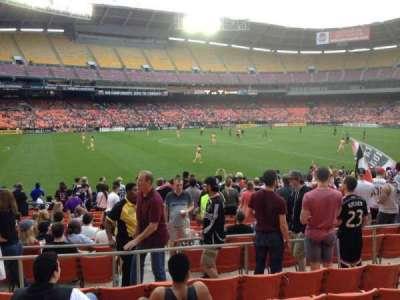 RFK Stadium, sección: 236, fila: 6, asiento: 7