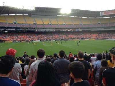RFK Stadium, sección: 235, fila: 8, asiento: 11