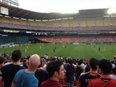 RFK Stadium, sección: 234, fila: 9, asiento: 10