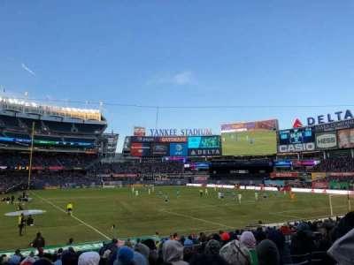 Yankee Stadium, sección: 116, fila: 11, asiento: 5