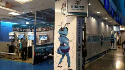 Spectrum Center, sección: Hugos Hangout 200 Level