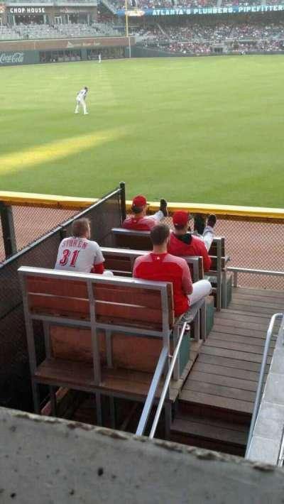 SunTrust Park, sección: 144, fila: 9, asiento: 1