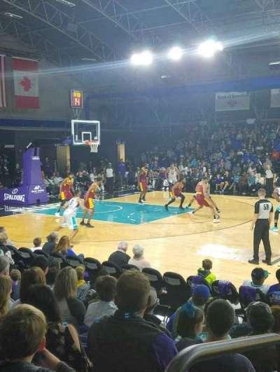 Greensboro Coliseum Fieldhouse, sección: 104, fila: H, asiento: 20