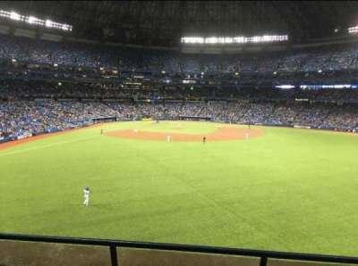 Rogers Centre, sección: 204, fila: 3, asiento: 108
