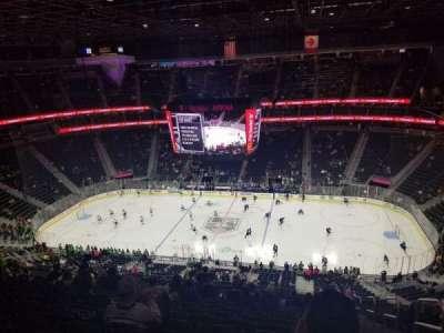 T-Mobile Arena, sección: 224, fila: Q, asiento: 17