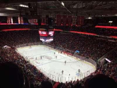 PNC Arena, sección: 318, fila: F, asiento: 9