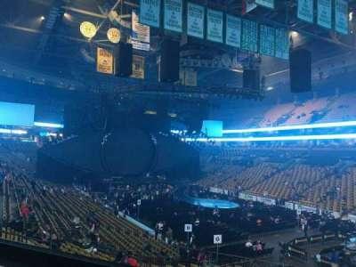 TD Garden, sección: LOGE 9, fila: 23, asiento: 2