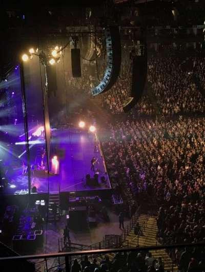 Oracle Arena, sección: 219, fila: 3, asiento: 4