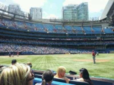 Rogers Centre, sección: 115L, fila: 3, asiento: 109