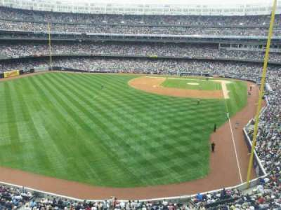 Yankee Stadium, sección: Audi Yankees Club, fila: 1, asiento: 2