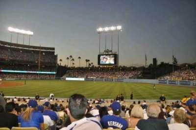 Dodger Stadium, sección: 40FD, fila: M, asiento: 1