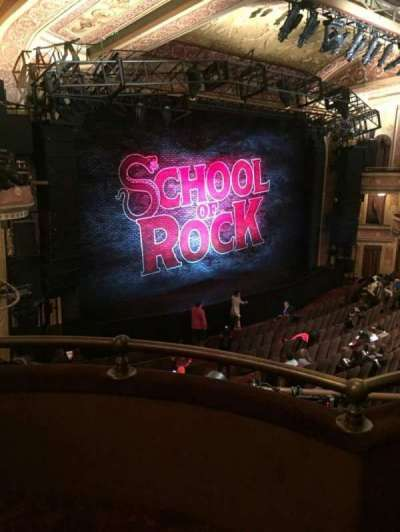 Winter Garden Theatre, sección: L Mezz, fila: B, asiento: 3