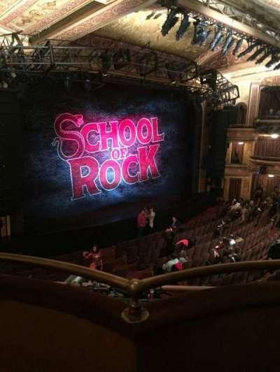 Winter Garden Theatre, sección: L Mezz, fila: B, asiento: 1