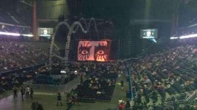 Jacksonville Veterans Memorial Arena, sección: 107, fila: T, asiento: 21