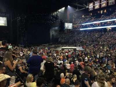Jacksonville Veterans Memorial Arena, sección: 113, fila: M, asiento: 5