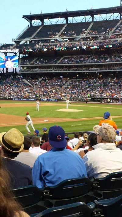 Citi Field, sección: 124, fila: 14, asiento: 10