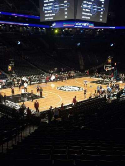 Barclays Center sección 112