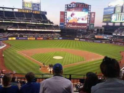 Citi Field, sección: 318, fila: 4, asiento: 7