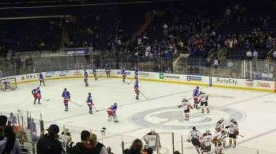 Madison Square Garden, sección: 109, fila: 19, asiento: 13