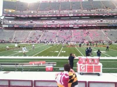 Maryland Stadium, sección: 24, fila: h, asiento: 22