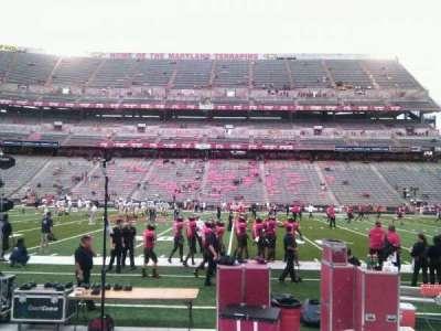 Maryland Stadium, sección: 25, fila: e, asiento: 19
