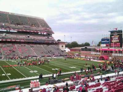 Maryland Stadium, sección: 24, fila: gg, asiento: 4