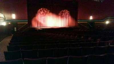 Landis Theater, sección: orchestra left, fila: x, asiento: 15