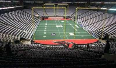 Jacksonville Veterans Memorial Arena, sección: 120, fila: BB, asiento: 7