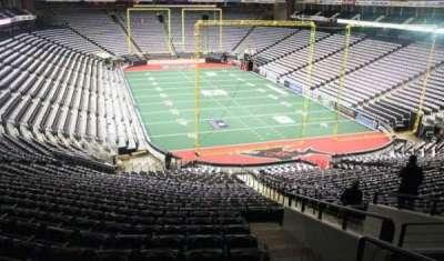 Jacksonville Veterans Memorial Arena, sección: 121, fila: DD, asiento: 1