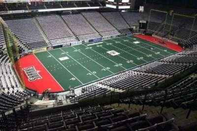 Jacksonville Veterans Memorial Arena, sección: 307, fila: H, asiento: 8