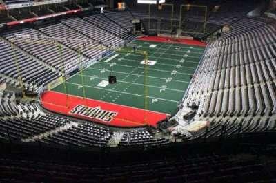 Jacksonville Veterans Memorial Arena, sección: 310, fila: F, asiento: 7