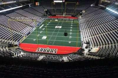 Jacksonville Veterans Memorial Arena, sección: 311, fila: F, asiento: 6