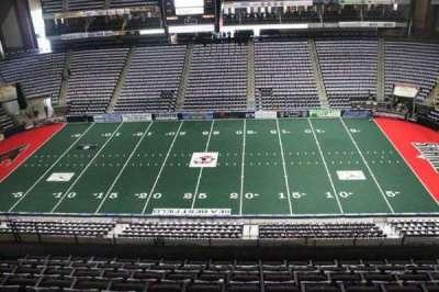 Jacksonville Veterans Memorial Arena, sección: 320, fila: F, asiento: 8