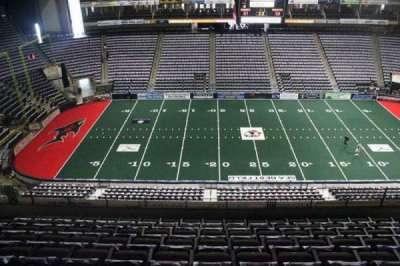 Jacksonville Veterans Memorial Arena, sección: 321, fila: F, asiento: 10