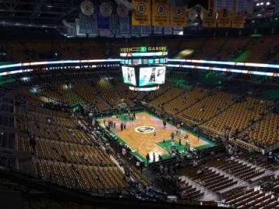 TD Garden, sección: Bal 326, fila: 9, asiento: 12