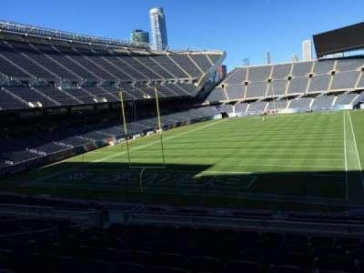 Soldier Field, sección: 220, fila: 10, asiento: 11
