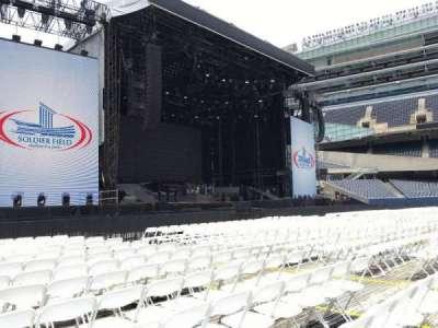 Soldier Field, sección: A6, fila: 13, asiento: 12