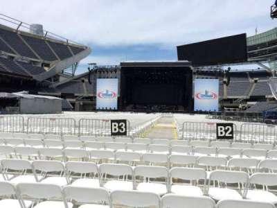 Soldier Field, sección: C3, fila: 8, asiento: 11