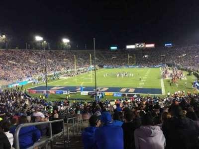 Rose Bowl, sección: 13-L, fila: 44, asiento: 23
