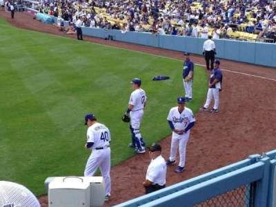 Dodger Stadium, sección: 301PL, fila: B, asiento: 6
