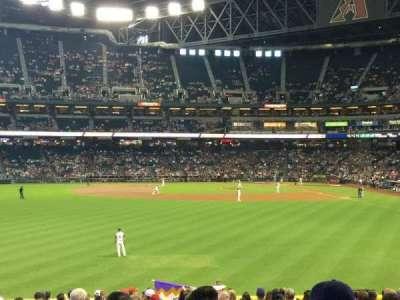 Chase Field, sección: 141, fila: 32, asiento: 12