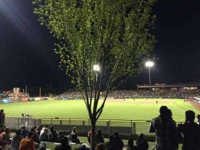 Scottsdale Stadium, sección: Lawn