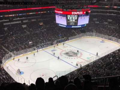 Staples Center, sección: 322, fila: 12, asiento: 6