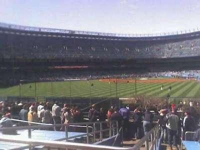 Old Yankee Stadium, sección: 55, fila: 41, asiento: 20