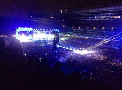 Soldier Field, sección: 332, fila: 11, asiento: 8