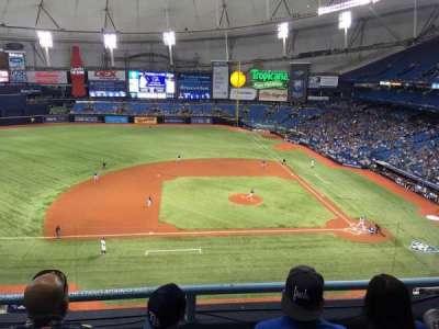 Tropicana Field, sección: 311, fila: C, asiento: 16