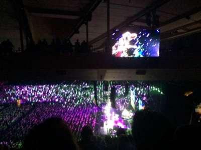 Madison Square Garden, sección: 213, fila: 19, asiento: 1