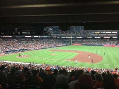 Oriole Park at Camden Yards, sección: 17, fila: 11, asiento: 8