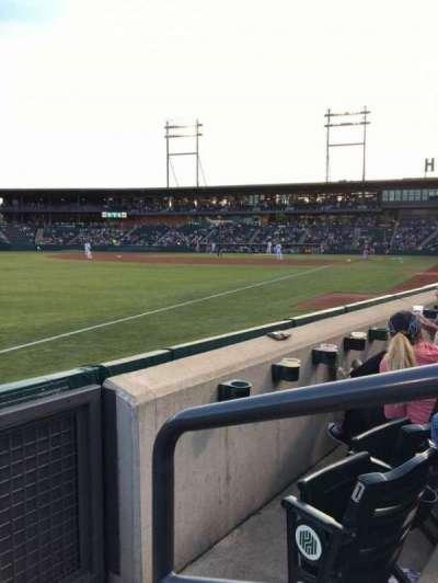 Huntington Park, sección: 23, fila: 2, asiento: 1