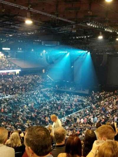 Allstate Arena, sección: 213, fila: m, asiento: 23